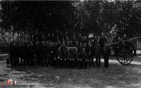 Mannschaftsbild aus dem Jahre 1935 Quelle  Archiv der Gemeinde Sittensen